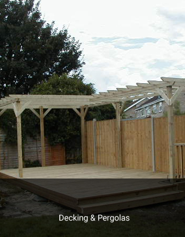 Decking & Pergola projects